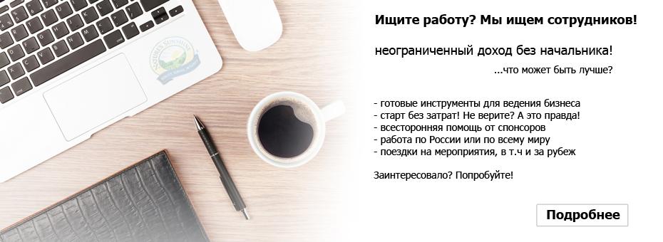 Бизнес без вложений вкомпании НСП